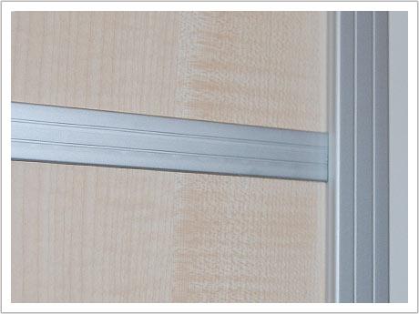 Ahorn Dekor mit Sprossen - Trennwand - Systeme + Schiebetüren