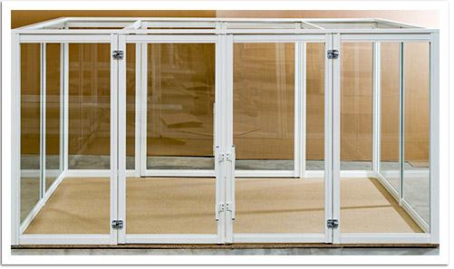 einhausung mit doppel dreht r idividuelle einhausungen di vision. Black Bedroom Furniture Sets. Home Design Ideas